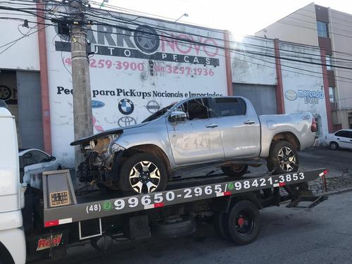 Sucata Toyota Hilux Srx 4x4 2019 Venda Peças Diesel