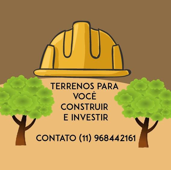 L. Construa Sua Chácara, Terreno Plano, Ótimo Local, Ibiúna