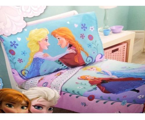 Disney- Frozen Infantil 4piezas Juego De Cama