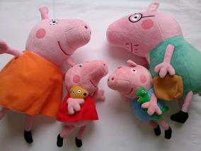 Família Peppa Pig Pelucia Ty