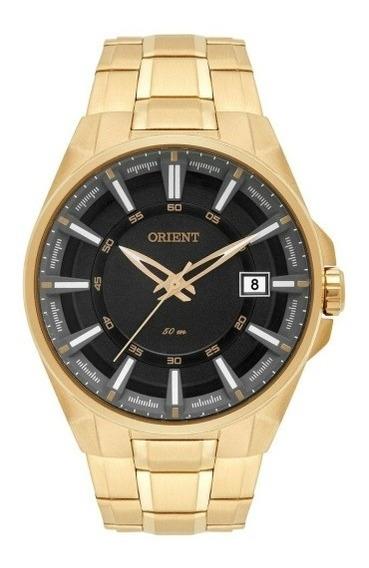 Relógio Orient Mgss1143 Novo Masculino Dourado