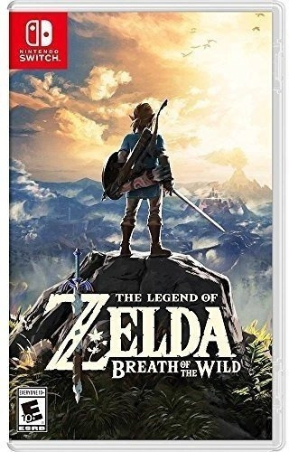 The Legend Of Zelda: Breath Of The Wild - Switch Lacrado