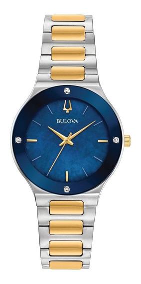 Reloj Bulova Millenia Diamonds 98r273 Dama Original