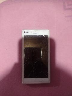 Celular Sony Modelo:c2104. Touch Quebrado