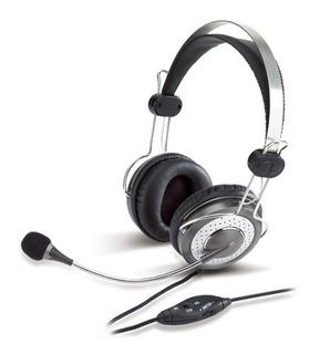 Genius Hs-04su (micrófono Con Anulación De Ruido) Auricular