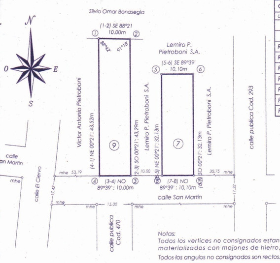 Dueño Vende - Lote Terreno 10x43 Barrio Las Lomas Sur Er-cu