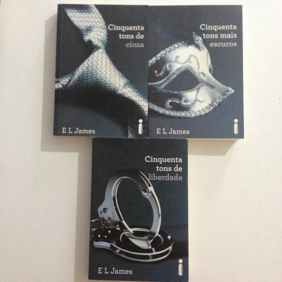 3 Livros Trilogia Cinquenta Tons De Cinza C2