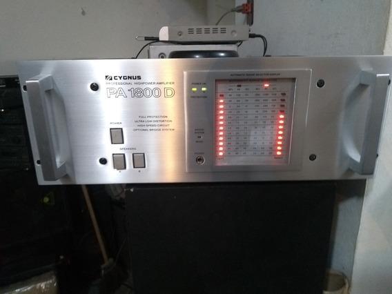 Amplificador Cygnus Pá 1800
