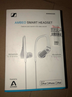 Audífonos Sennheiser Ambeo Smart Headset 3d iPhone Lightning