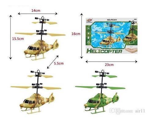 Helicóptero Mini Drone Pc511 Sensor Infrarrojo Recargable