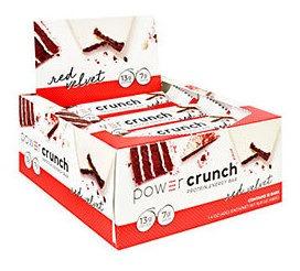 Power Crunch Power Crunch (12 Ea) Veludo Vermelho