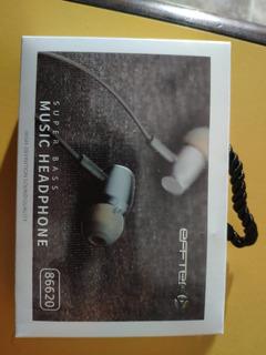 Auriculares Efftec Super Bass Music Headphone Calidad Nuevos