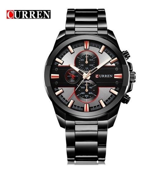 Reloj Moderno Uso Rudo Hombre Análogo Original Curren 8274