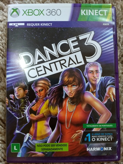 Jogo Dance Central 3 Xbox 360 Semi Novo Original