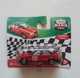 Taxi Mania Mexico Nissan Tsuru Tijuana Rojo 1/64