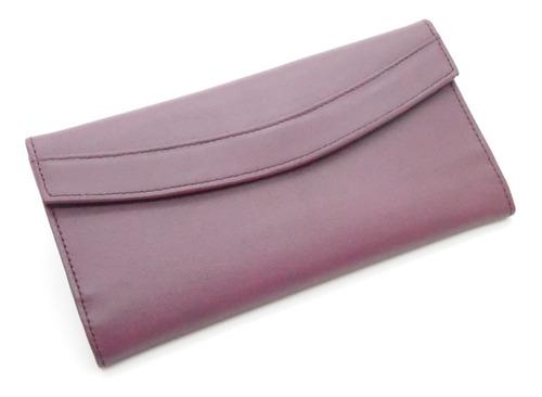 Imagen 1 de 5 de Exclusivas Billetera De Dama Tipo Sobre 100% Cuero Original