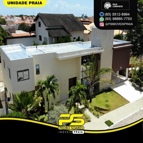 Casa Com 3 Dormitórios À Venda Por R$ 1.600.000 - Portal Do Sol - João Pessoa/pb - Ca0892