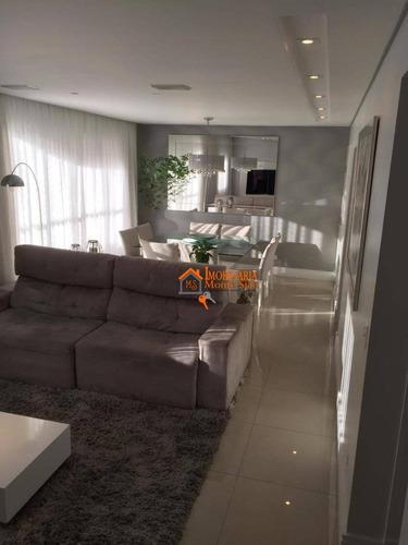 Apartamento Com 2 Dormitórios À Venda, 94 M² Por R$ 705.000,00 - Centro - Guarulhos/sp - Ap2458