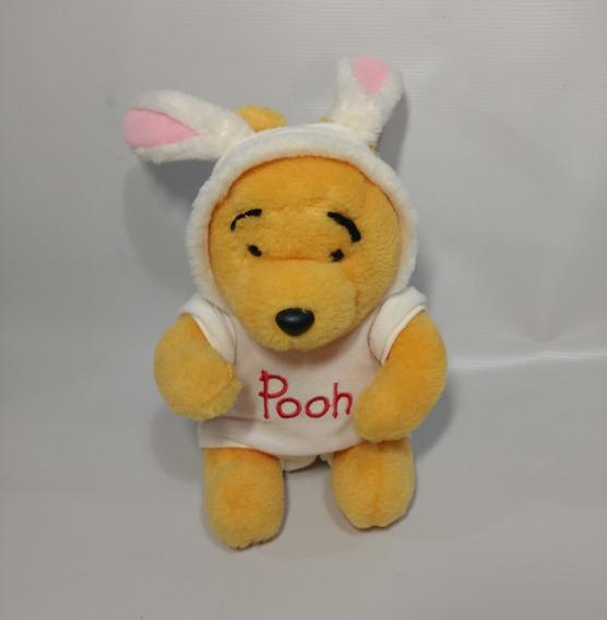 Ursinho Pooh Puff Vestido De Coelhinho Pelúcia 20 Cm