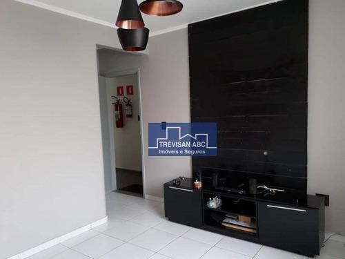 Apto À Venda No Planalto/sbc 2 Dorms, 1 Vaga, Cozinha Completa - Ap2827
