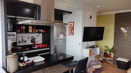 Apartamento Com Uma Suite E Um Lavabo