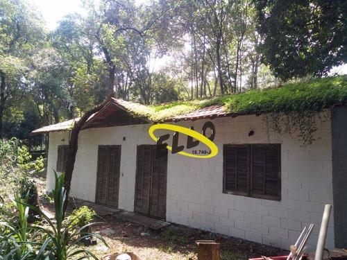 Imagem 1 de 30 de Chácara Com 2 Dormitórios À Venda, 1567 M² Por R$ 280.000,00 - Parque Rizzo - Cotia/sp - Ch0178
