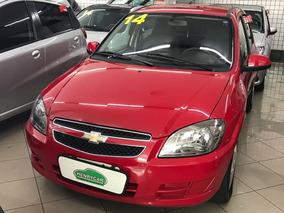 Chevrolet Celta 1.0 Lt Flex Power 5p 2014 Completo Vermelho