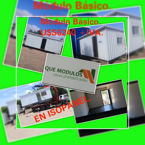 Casas Prefabricadas En Isopanel Modulos Contenedores