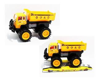 Volqueta 18cm Vehículo De Construcción Truck V13 Ref. 2086