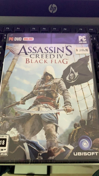 Assassins Creed Iv Black Flag Pc Mídia Física Lacrada