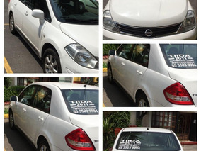 Impecable Nissan Tiida Sedan Aut. Clima 2011 $99,000.00