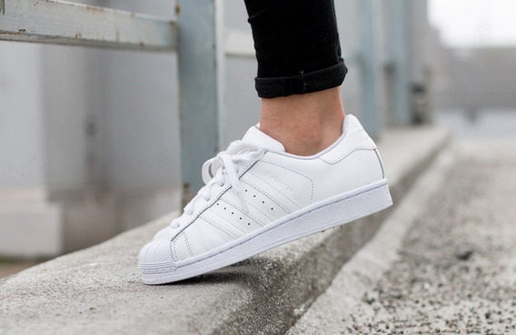 adidas Tênis Superstar Foundation Branco