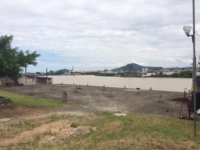 Terreno Com Frente Para O Rio Itajaí - Sc - 6500a