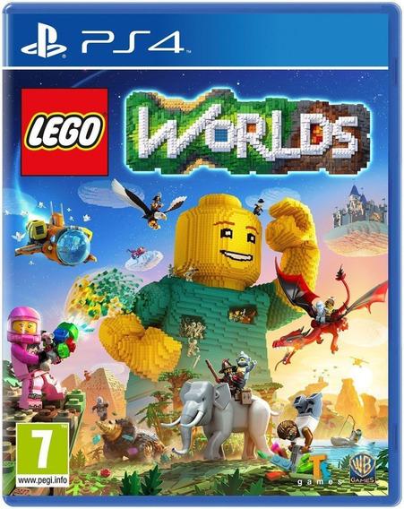 Lego Worlds Ps4 Juego Fisico Original Sellado Cd Nuevo