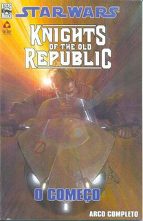 2010 Hq Quadrinhos Star Wars Knights Of The Old Republic Nº1