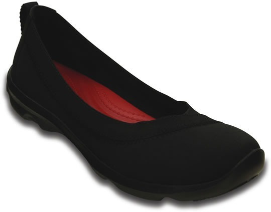 Crocs Busy Day Stretch Flat Black/black 37