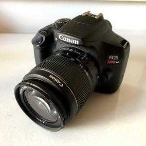 Câmera Canon T6 Eos Rebel Lente 18-55mm Dslr 18mp Semi Profi