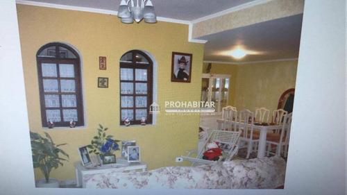 Chácara Com 3 Dormitórios À Venda, 3000 M² Por R$ 620.000,00 - Colônia (zona Sul) - São Paulo/sp - Ch0135
