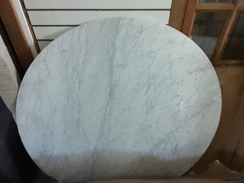 Marmol Carrara Circular 140cm