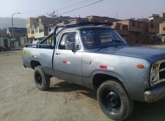 Camioneta Dodge Power Wagon