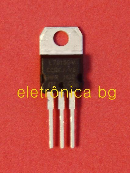 Regulador De Tensão L7815cv Original Frete R$12 | Kit C/ 10