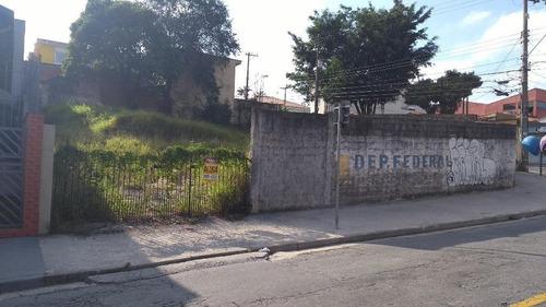 Imagem 1 de 4 de Terreno 500m² - Venda Ou Locação - Próximo Av. Pereira Barreto - Jd Do Pilar - Sto André - Te4058