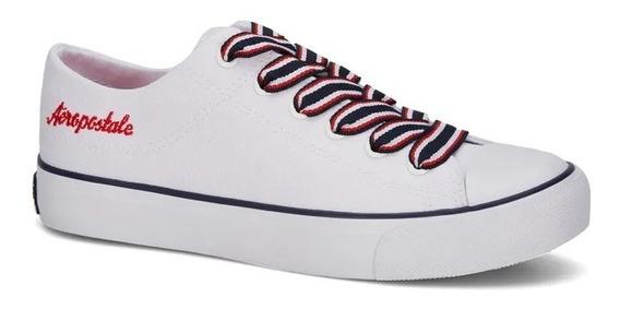 Zapato Sneaker Aeropostale Mujer Urbano Blanco 2669229