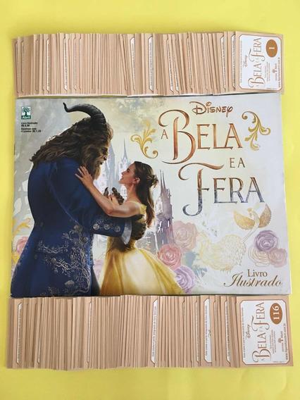 A Bela E A Fera Álbum Completo Com Figurinhas Para Colar