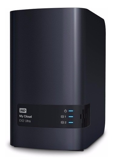 Servidor Storage Nas Wd My Cloud Ex2 Ultra Ate 20tb