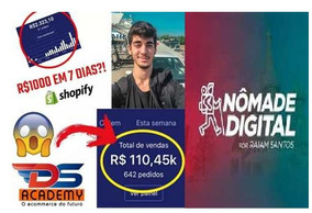 Ds Academy + Nômade-digital+ Game Changers + Brinde Incrive