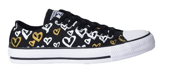 Tênis Converse Chuck Taylor All Star Ox Preto Ct08640002
