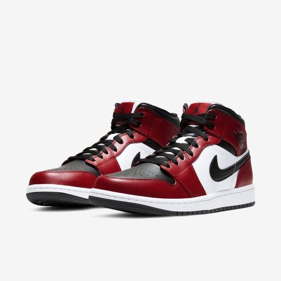 Tênis Nike Air Jordan 1 Mid Gym Red