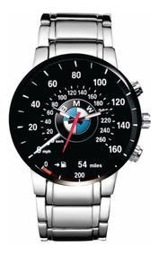Relógio De Pulso Personalizado Logo Bmw M3 M4 M5 M6 320i 003