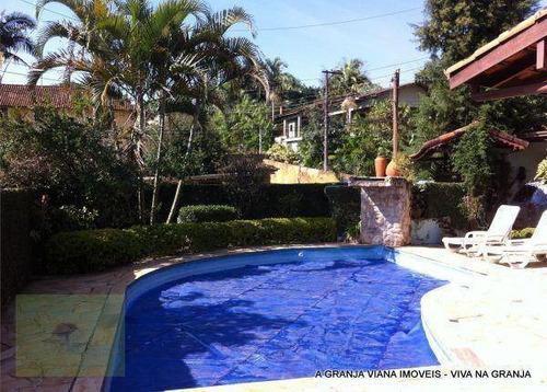 Casa Com 3 Dormitórios À Venda, 240 M² Por R$ 950.000,00 - Granja Viana - Carapicuíba/sp - Ca0734